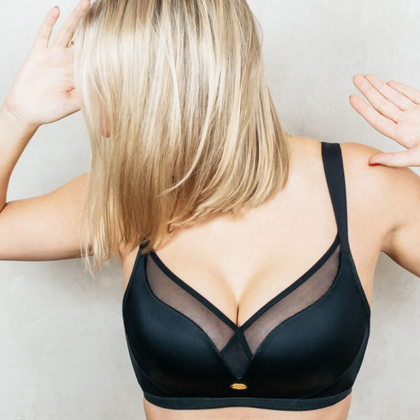 LindaBra wireless bra black
