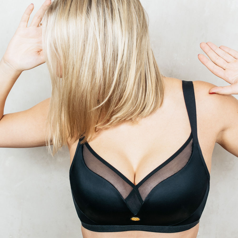 LindaBra wireless sexy bra